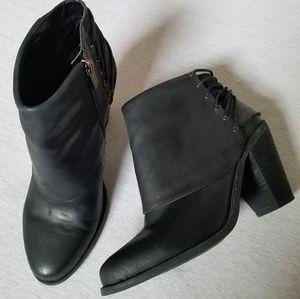 Jessica Simpson Calvey Ankle Boots Lacing black 9